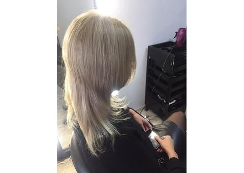 Итальянское капсульное горячее наращивание волос