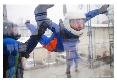 Полёты в аэротрубе. Аэротруба Атмосфера Калининград