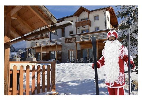 Курорты. Отель на горнолыжном курорте. Красная поляна Сочи. Новый Год на Красной поляне.