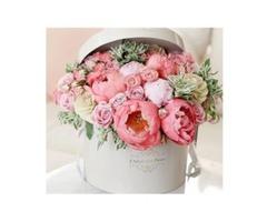 Бесплатная доставка цветов по Москве. Авторские букеты. Цветочные композиции. Цветы в коробке.