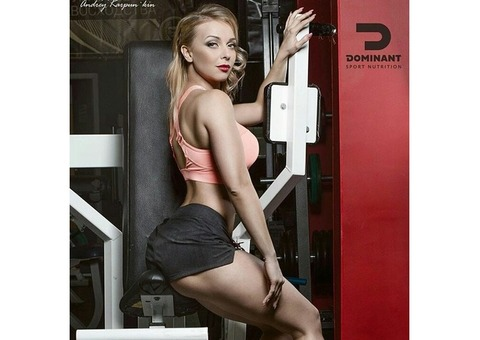 Фитнес модель. Модель Анна Александрова (Куликова)