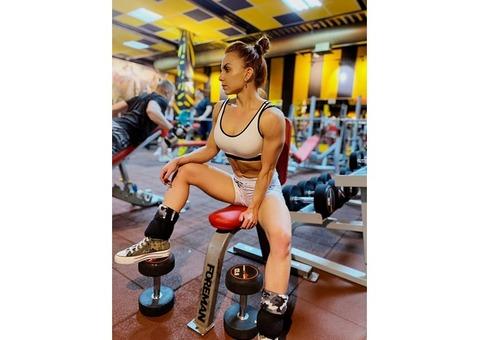 ФИТНЕС-МОДЕЛЬ Евгения Балясина. Фитнес-модели, спортивные девушки, фитоняшки Москвы.