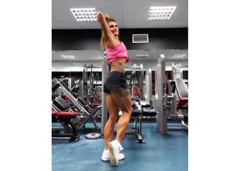 Лучший персональный фитнес тренер Томск. Виктория Линейцева фитнес, питание.