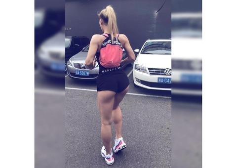Фитнес-Модель Александра Амбилонова. Модель, фотомодель. Фитоняшки, спортивные красивые девушки.