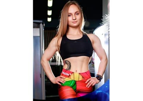 Красивые, спортивные девушки. Светлана Михнюк Фитнес-Модель, модель, фотомодель.